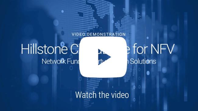 Watch Vídeo: Demo Hillstone CloudEdge para solução NFV virtualização de funções de rede