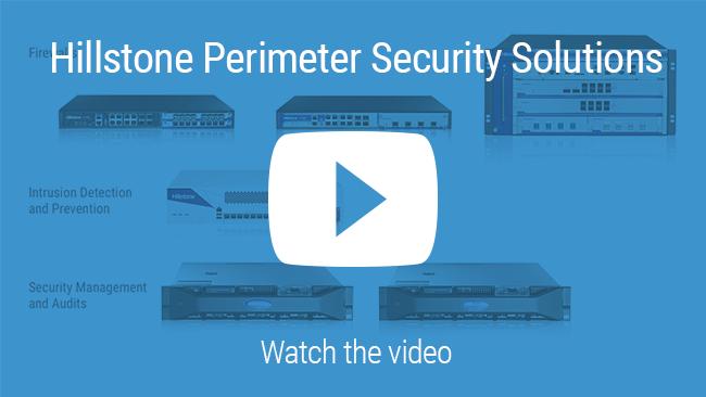 Watch Vídeo: Portfólio de Hillstone soluções de segurança de perímetro