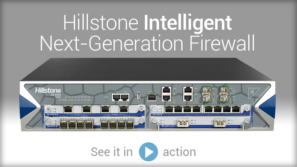 Watch Vídeo: Hillstone firewall inteligente de última geração